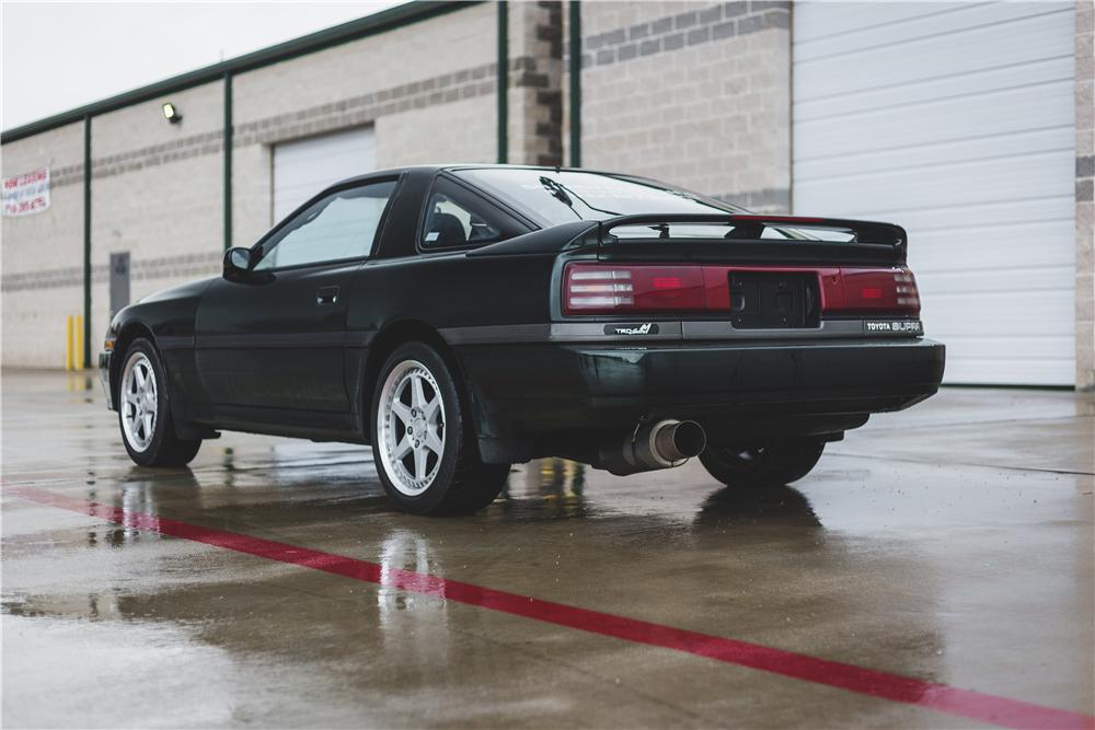 1991 Toyota Supra Turbo rear 3/4