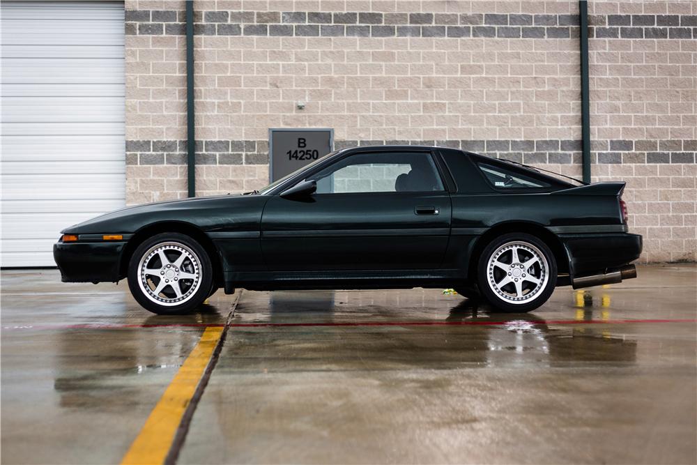 1991 Toyota Supra Turbo side profile
