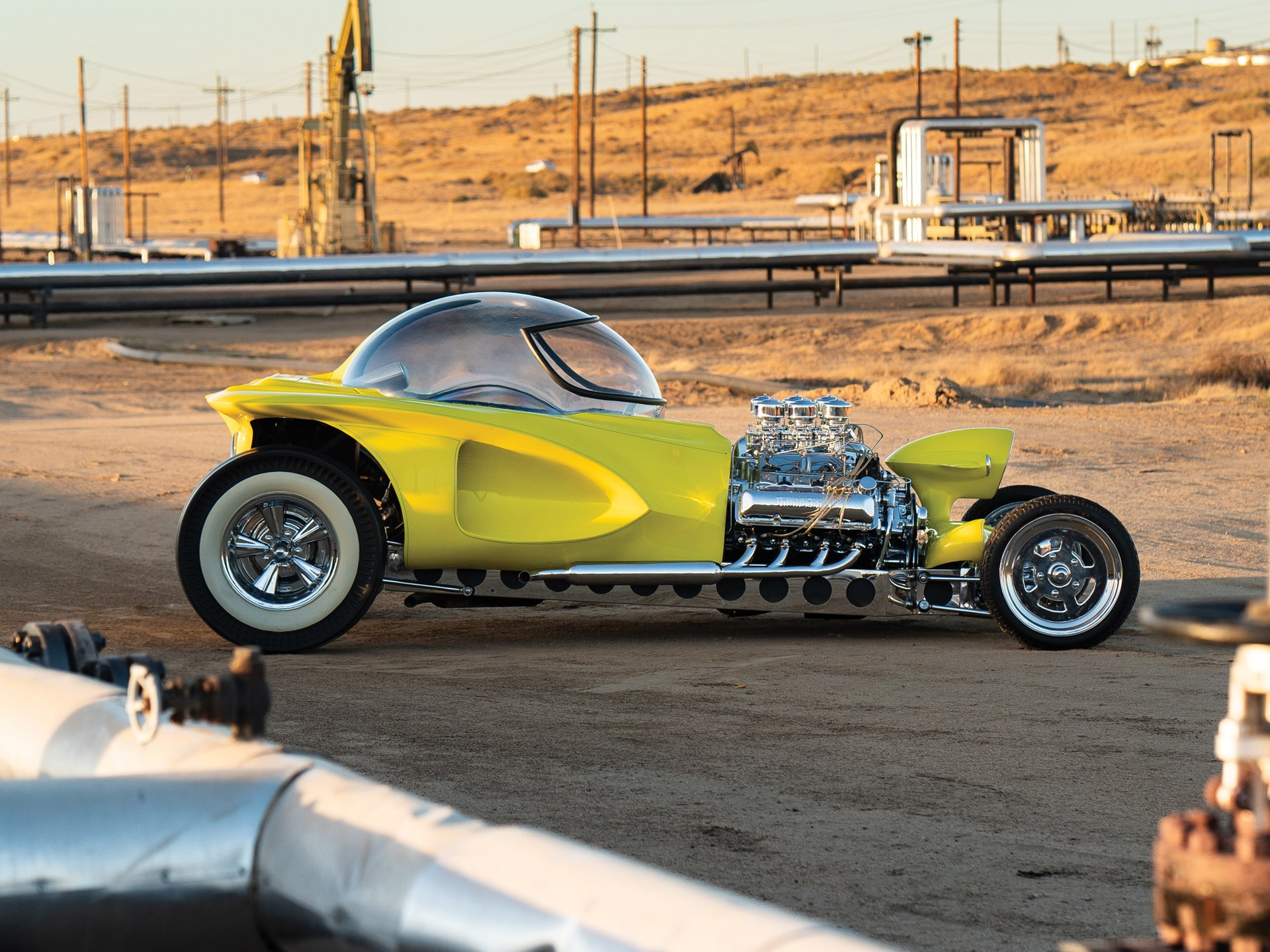 """1962 Ed Roth """"Mysterion"""" Recreation side profile"""