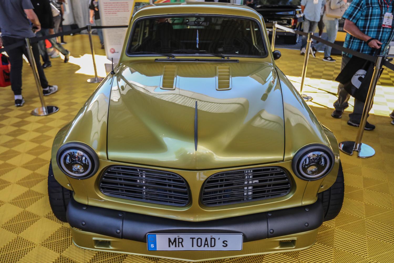 SEMA best of Volvo mr toad z06 corvette front