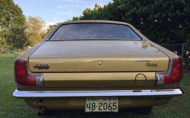 1971 Plymouth Cricket rear bumper