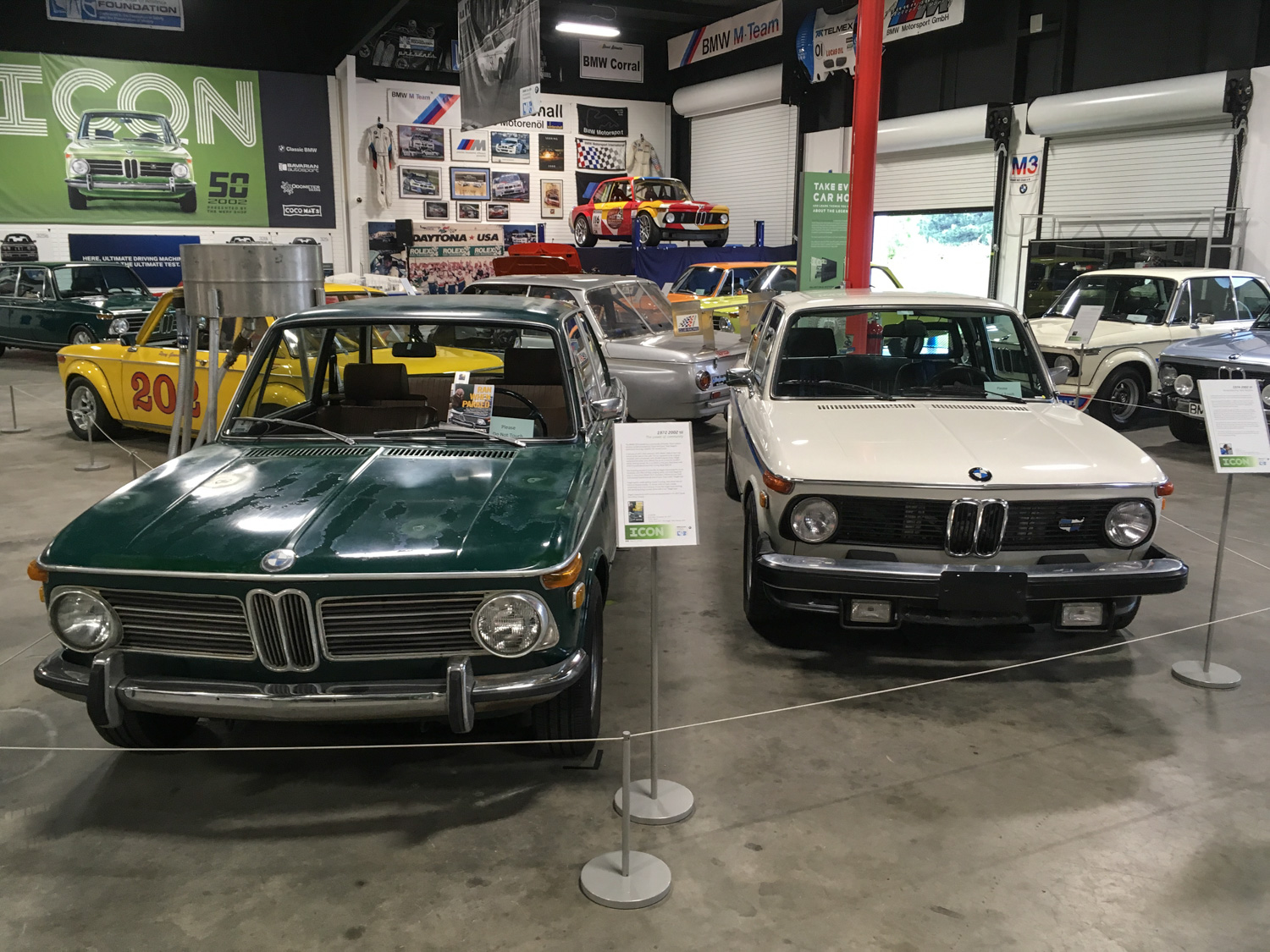 Or this. (Louie, on the left, at the BMW CCA Foundation Museum in Greer SC)