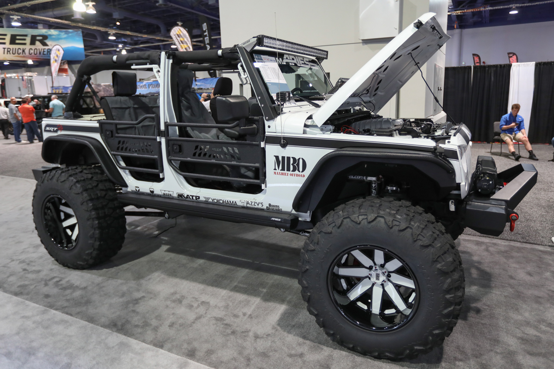 SEMA engine swaps hellcat jeep