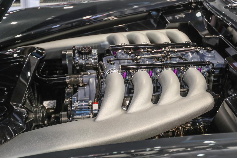 SEMA engine swaps mercedes benz 300 sl gullwing LS swap