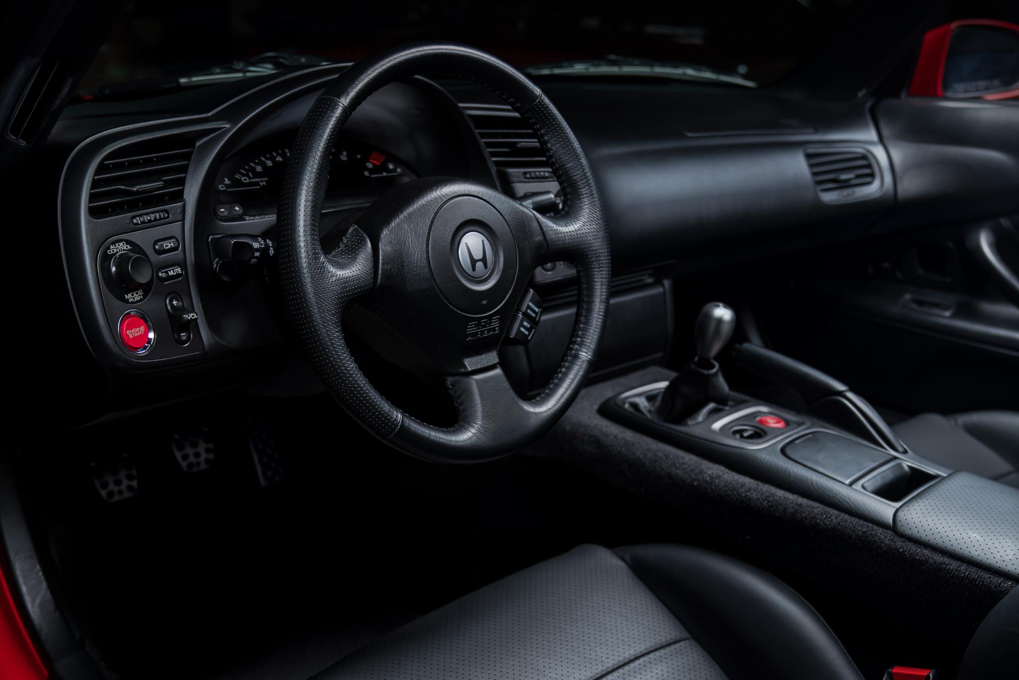 2000 Honda S2000 steering wheel dash