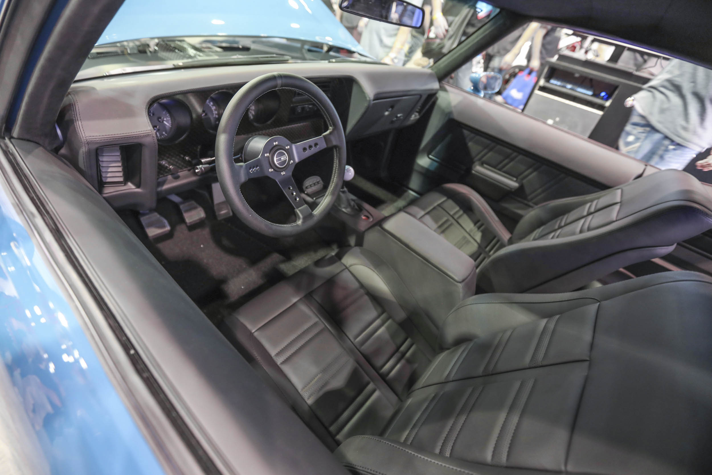 widebody Camaro from the Roadster Shop interior