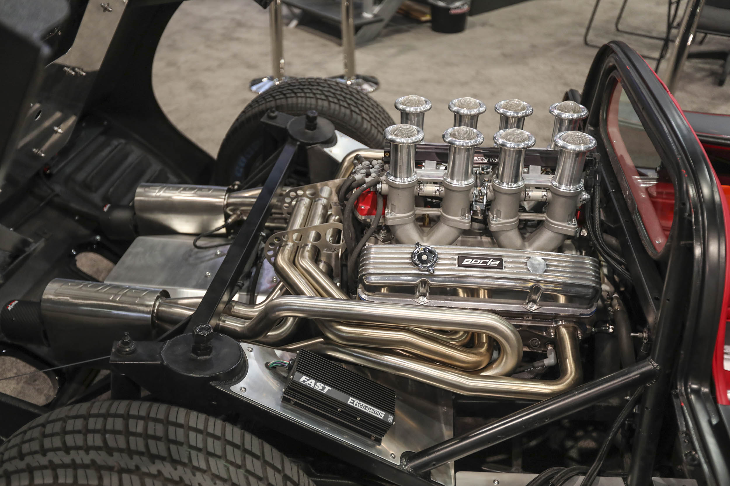 Borla-stack-injected Chevy small-block made out list of favorite engines