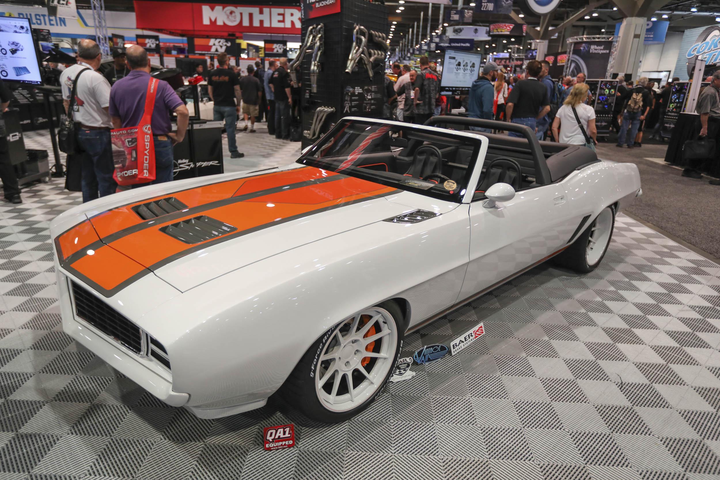 SEMA custom muscle car