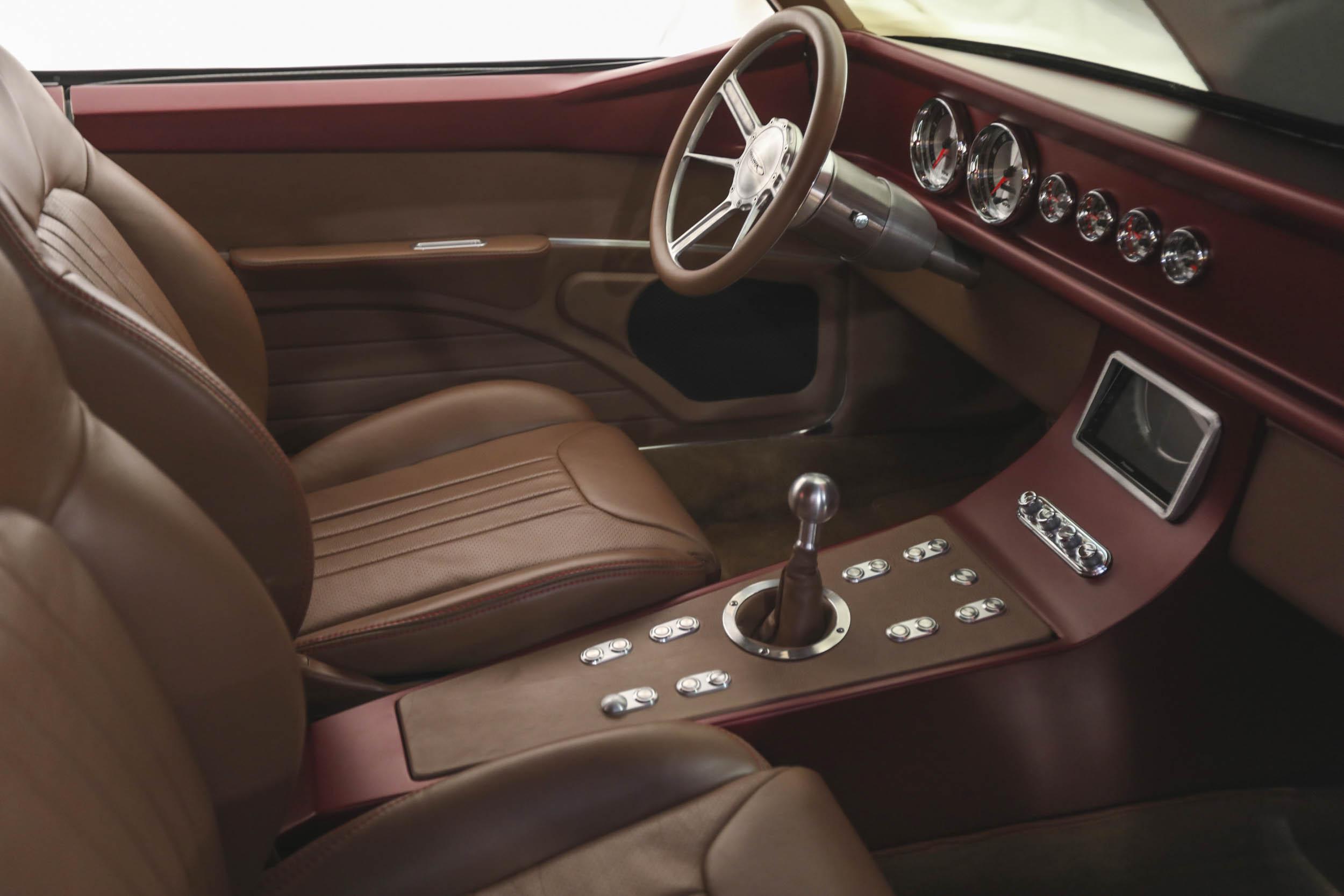 SEMA car interior