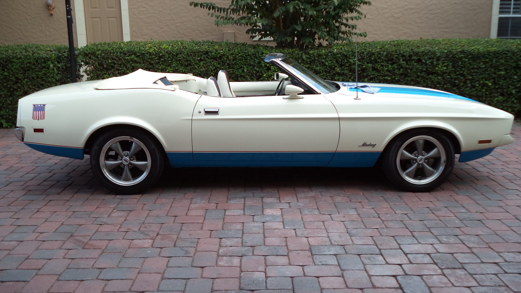1972 Ford Mustang Sprint USA side profile