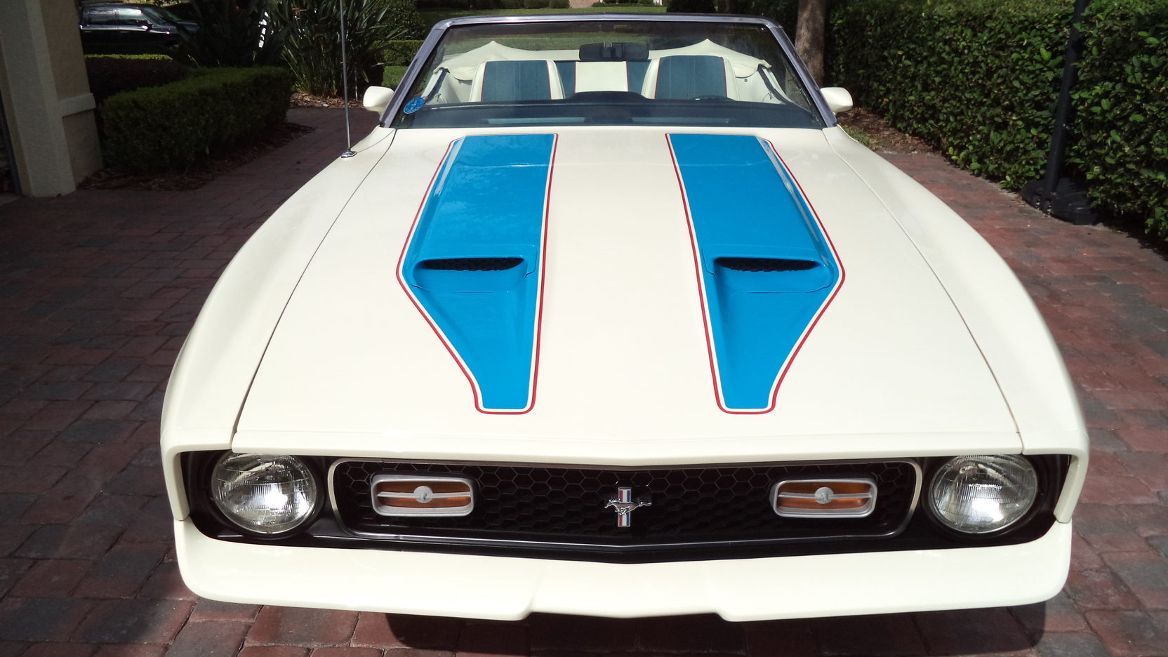 1972 Ford Mustang Sprint USA front end