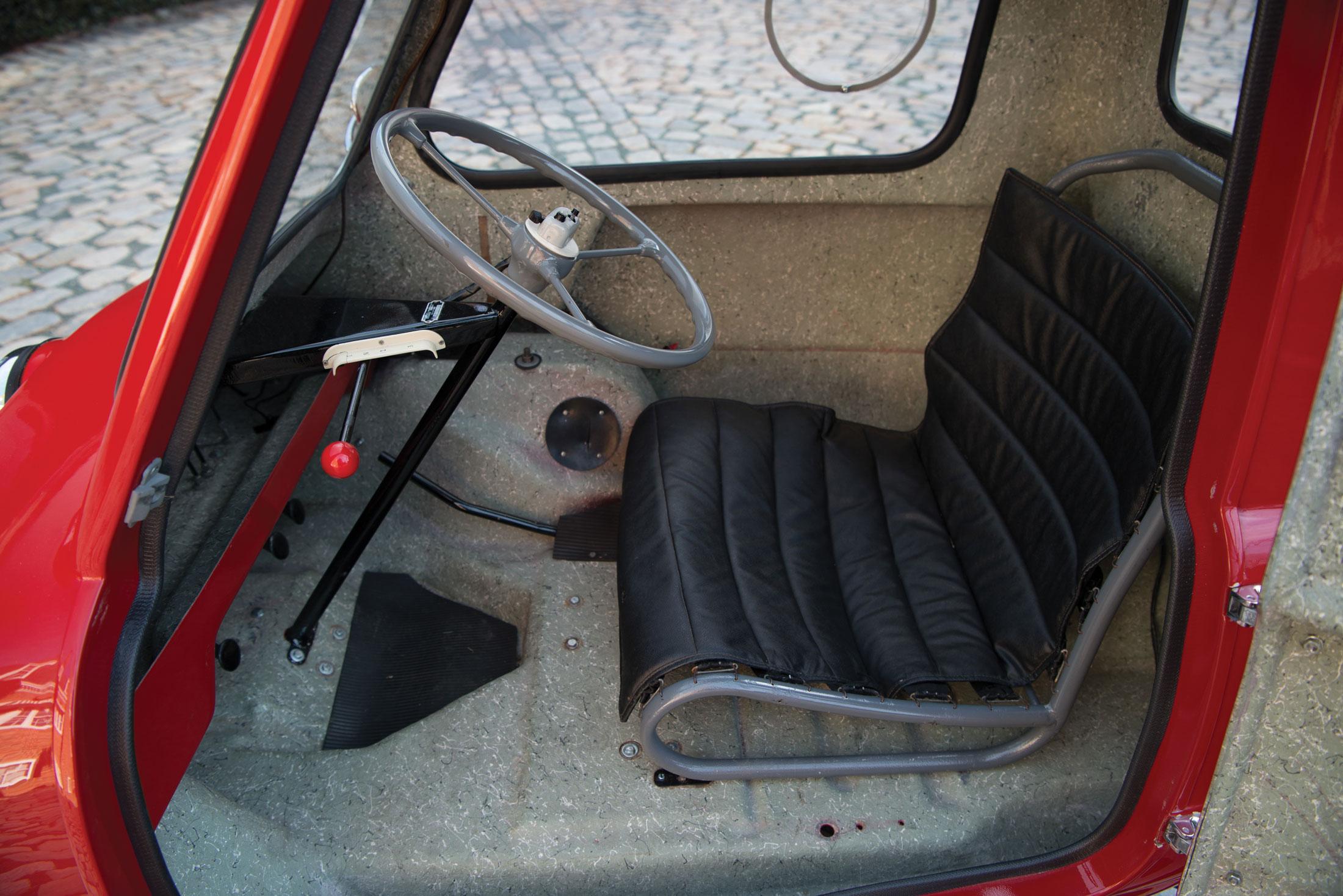 1964 Peel P50 interior