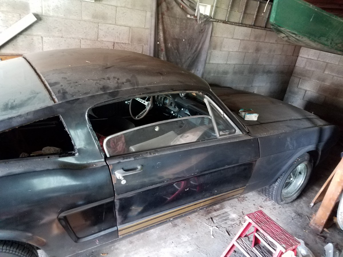 1966 Shelby GT350H barn find side view