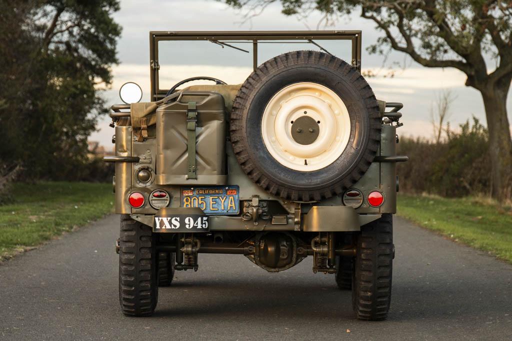 Steve McQueen's 1945 Willys MB rear