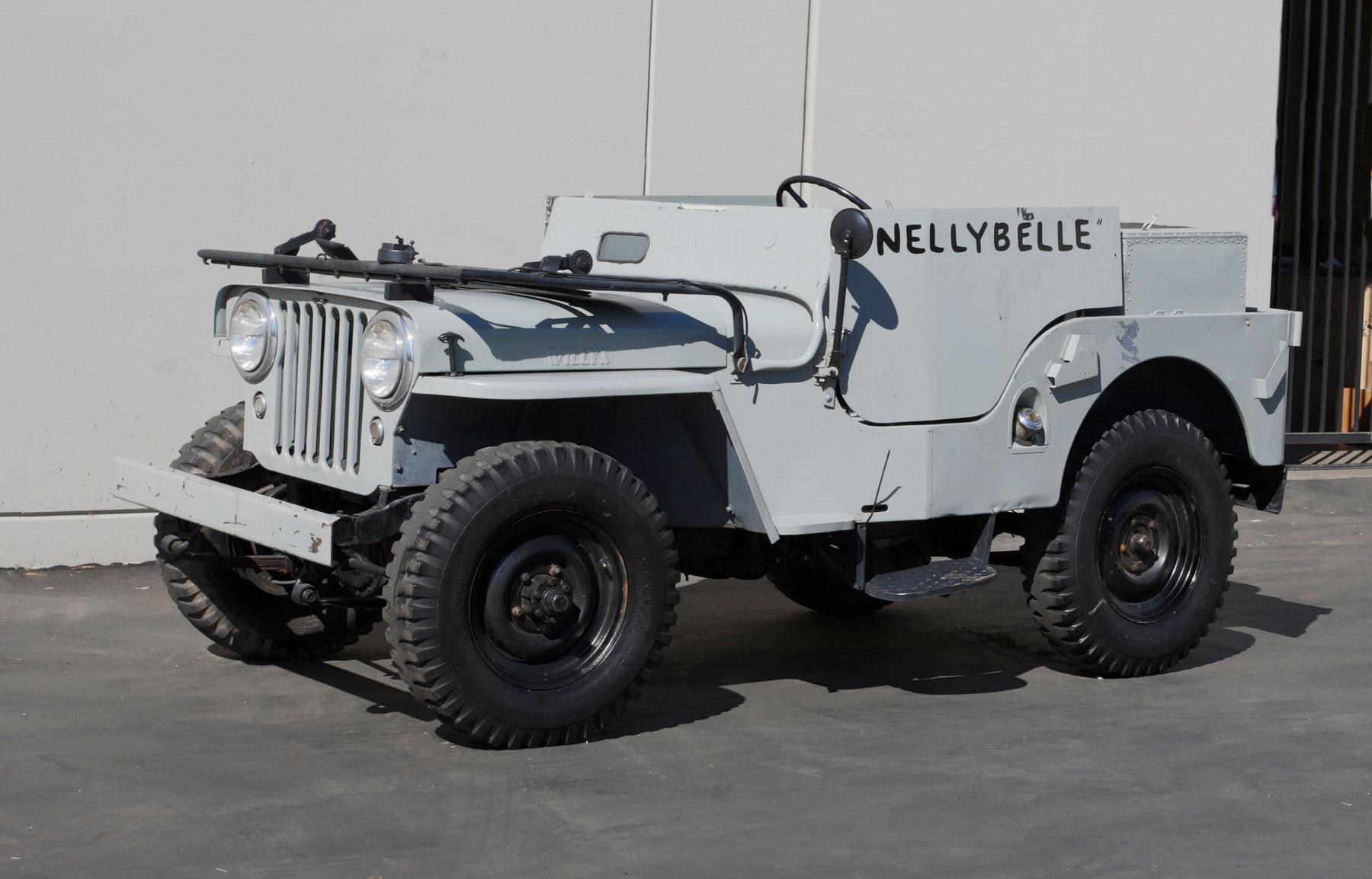 1946 Willys CJ-2A Jeep windshield down
