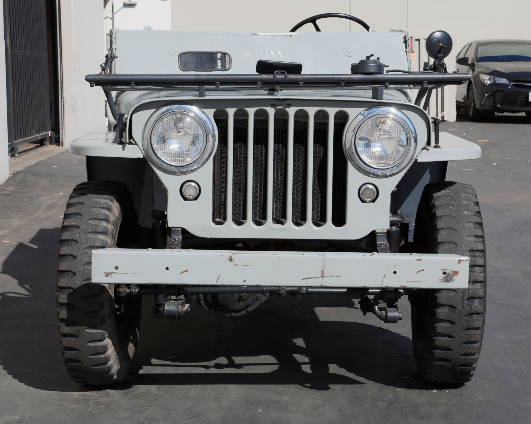 Nellybelle, the 1946 Willys CJ-2A Jeep front