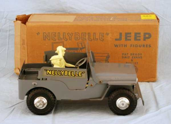 Nellybelle toy car from the 1950s