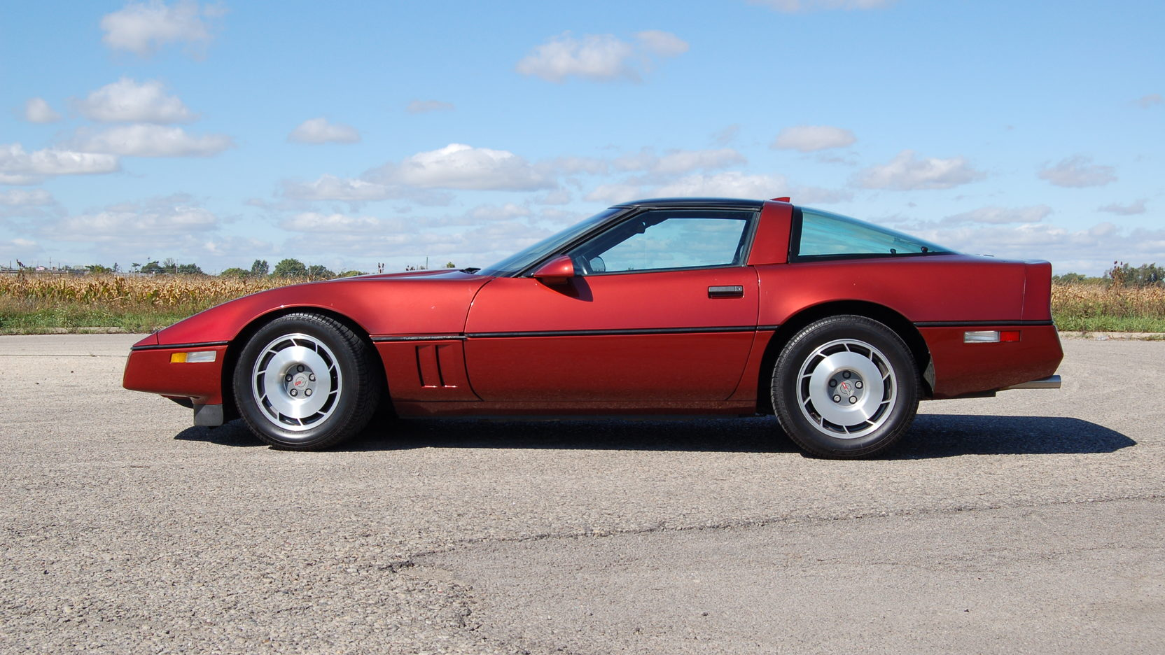 1987 Chevrolet Corvette side profile