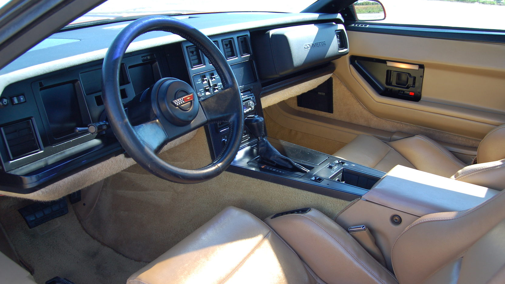 1987 Chevrolet Corvette interior dash