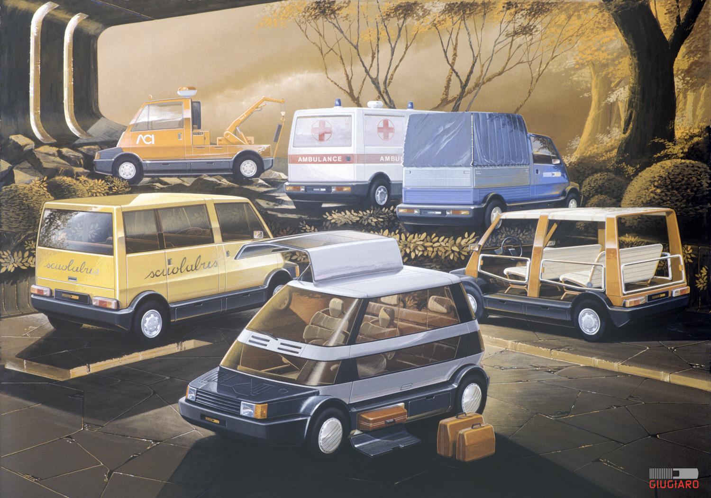 1982 Lancia Capsula concept