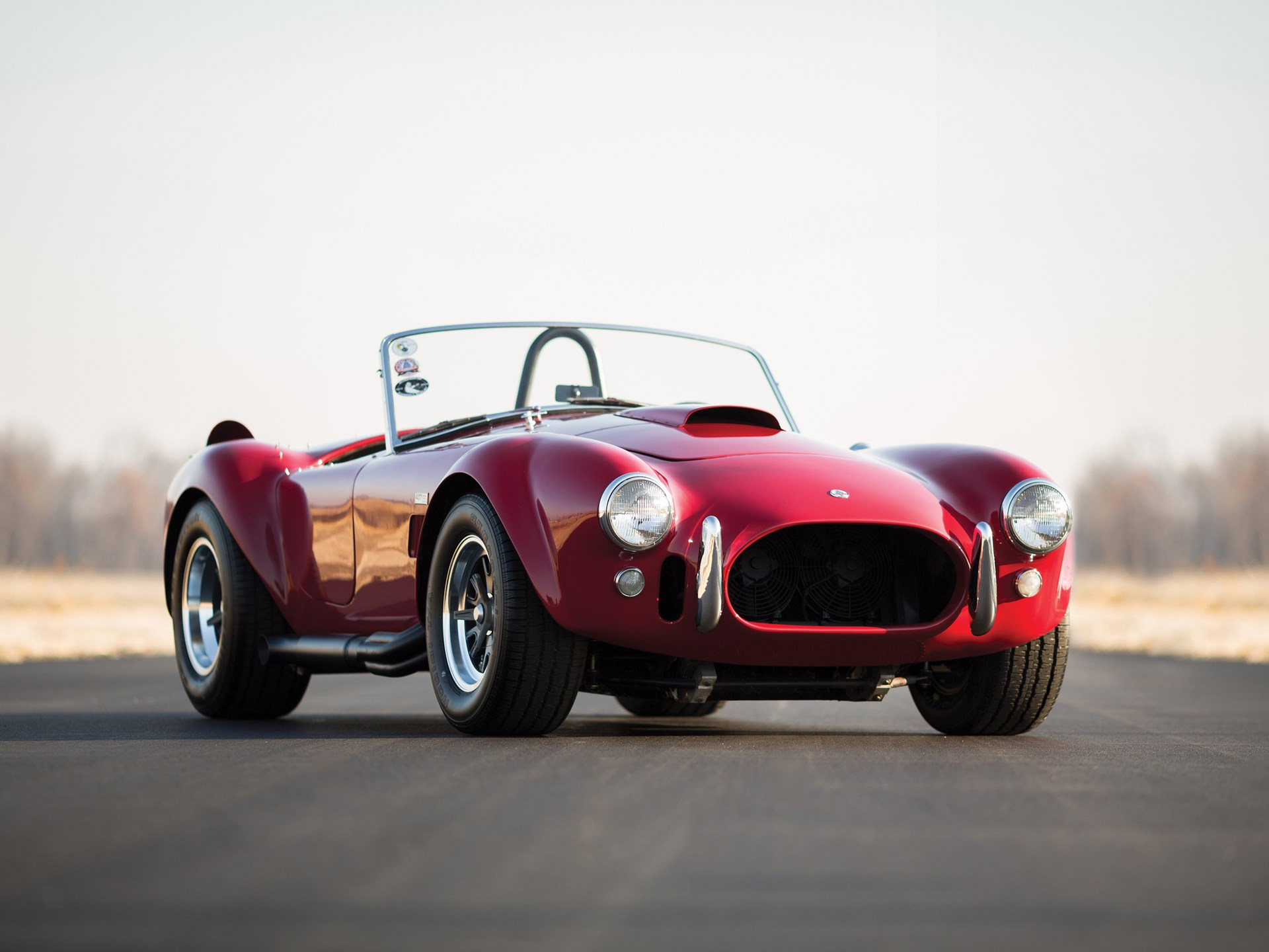 1966 Shelby 427 Cobra front 3/4 red