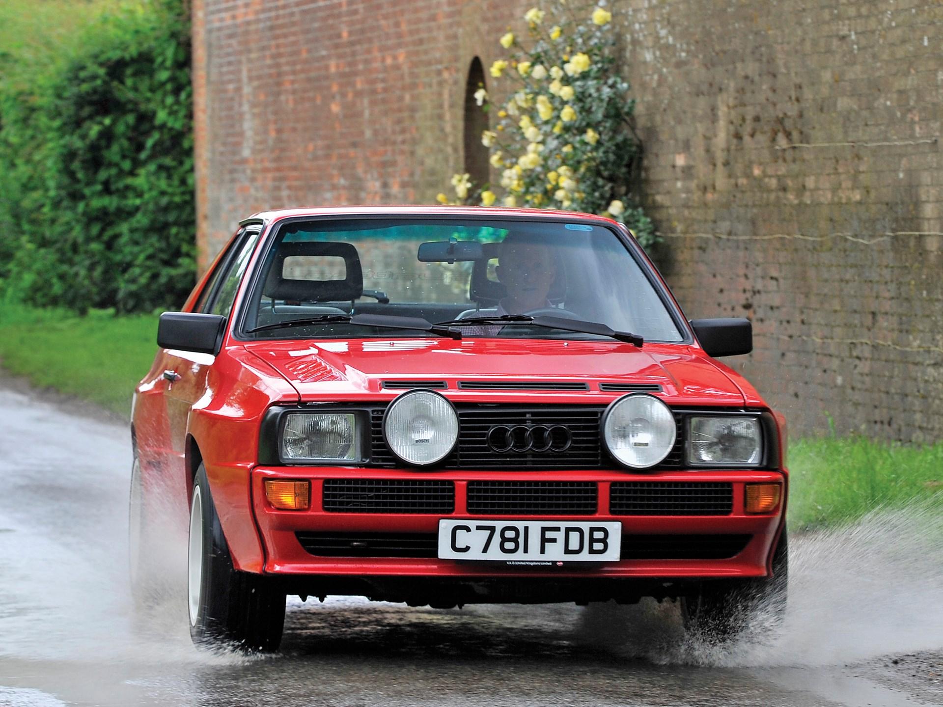1986 Audi Sport Quattro front end flares