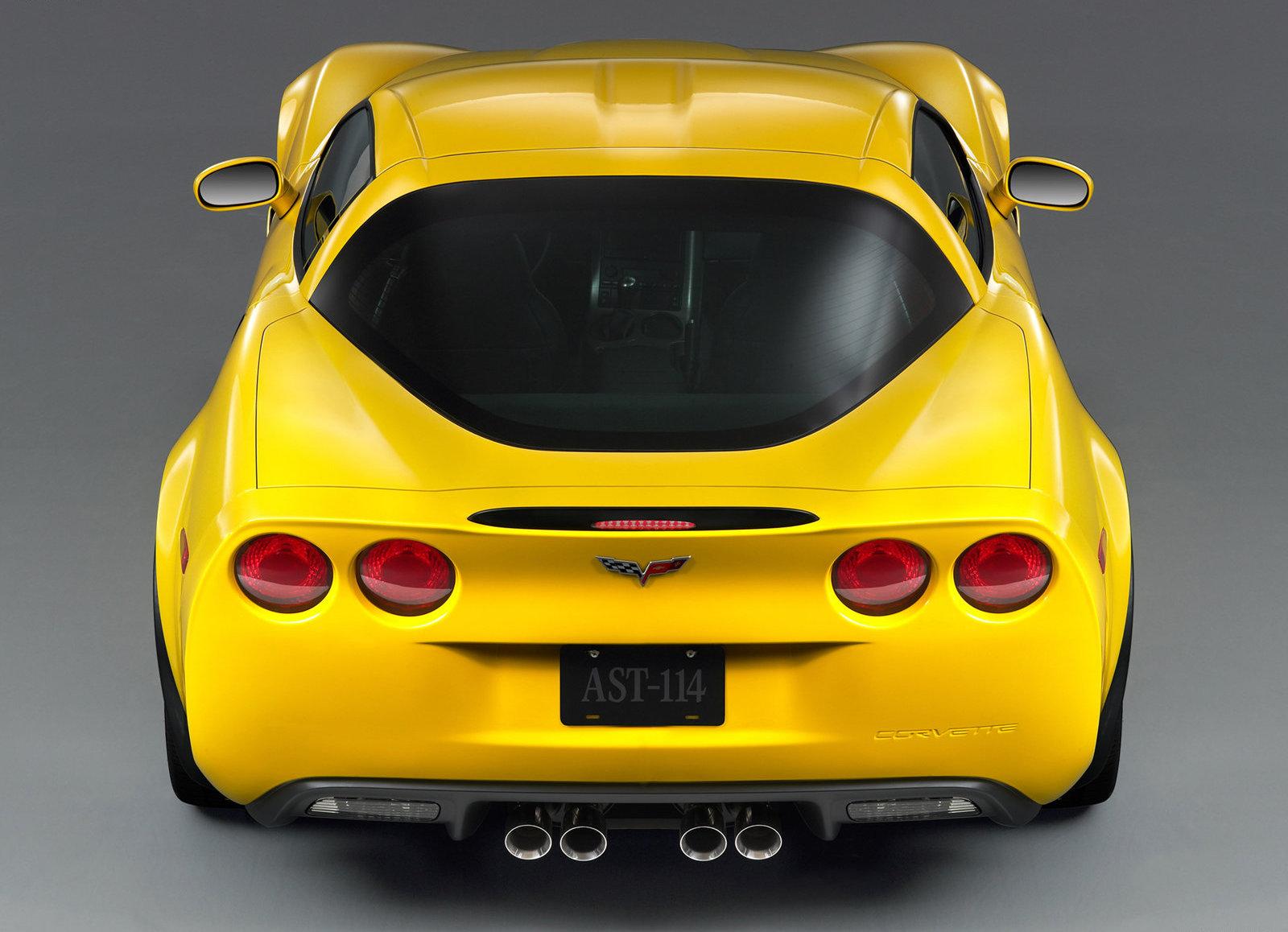 2006 Chevrolet Corvette Z06 rear haunches