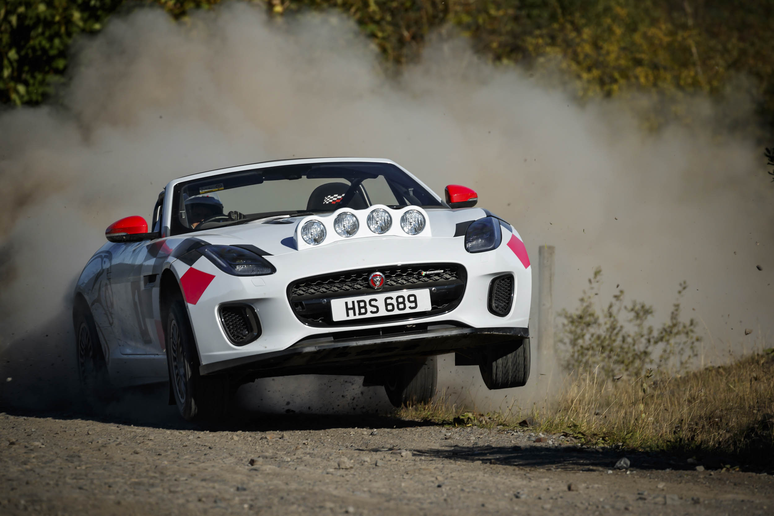 Jaguar's rally-ready F-Type is a wicked homage to the XK120 thumbnail