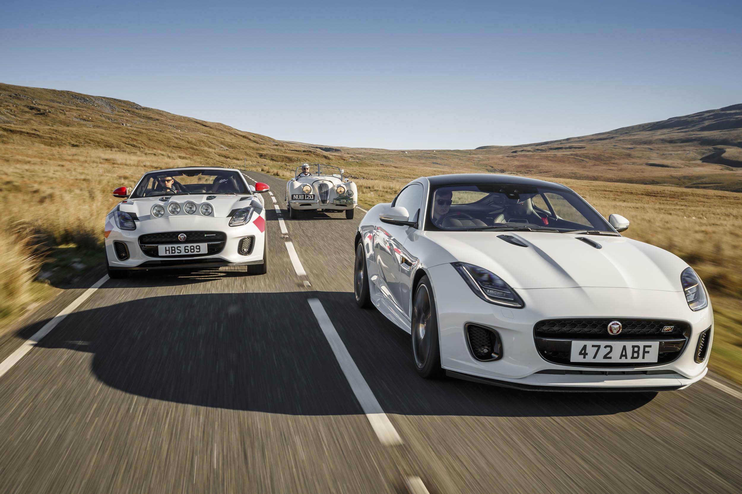 Jaguars driving