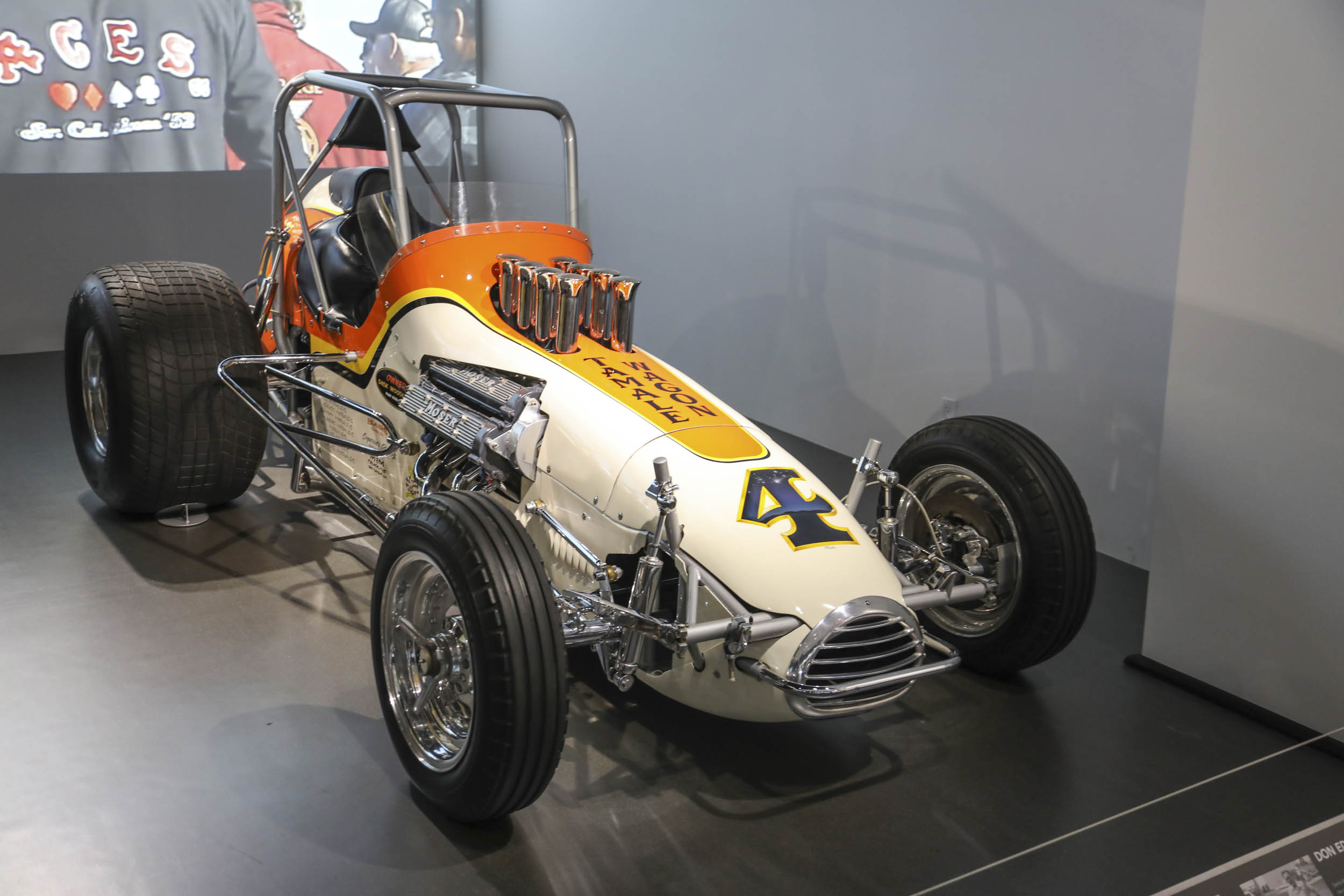 The Tamale Wagon was powered by a 302 small-block Chevy