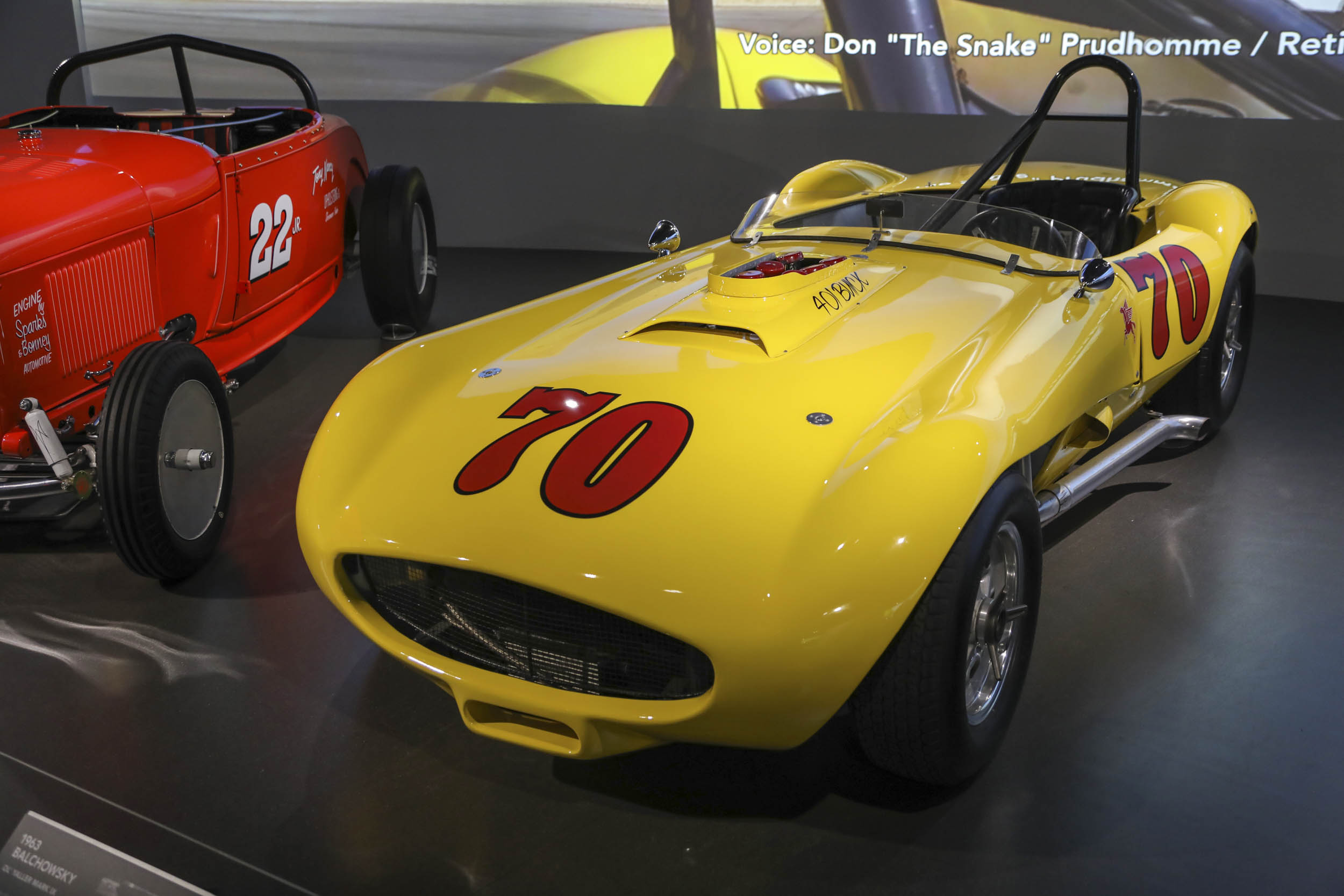 Racing legend Parnelli Jones exhibit