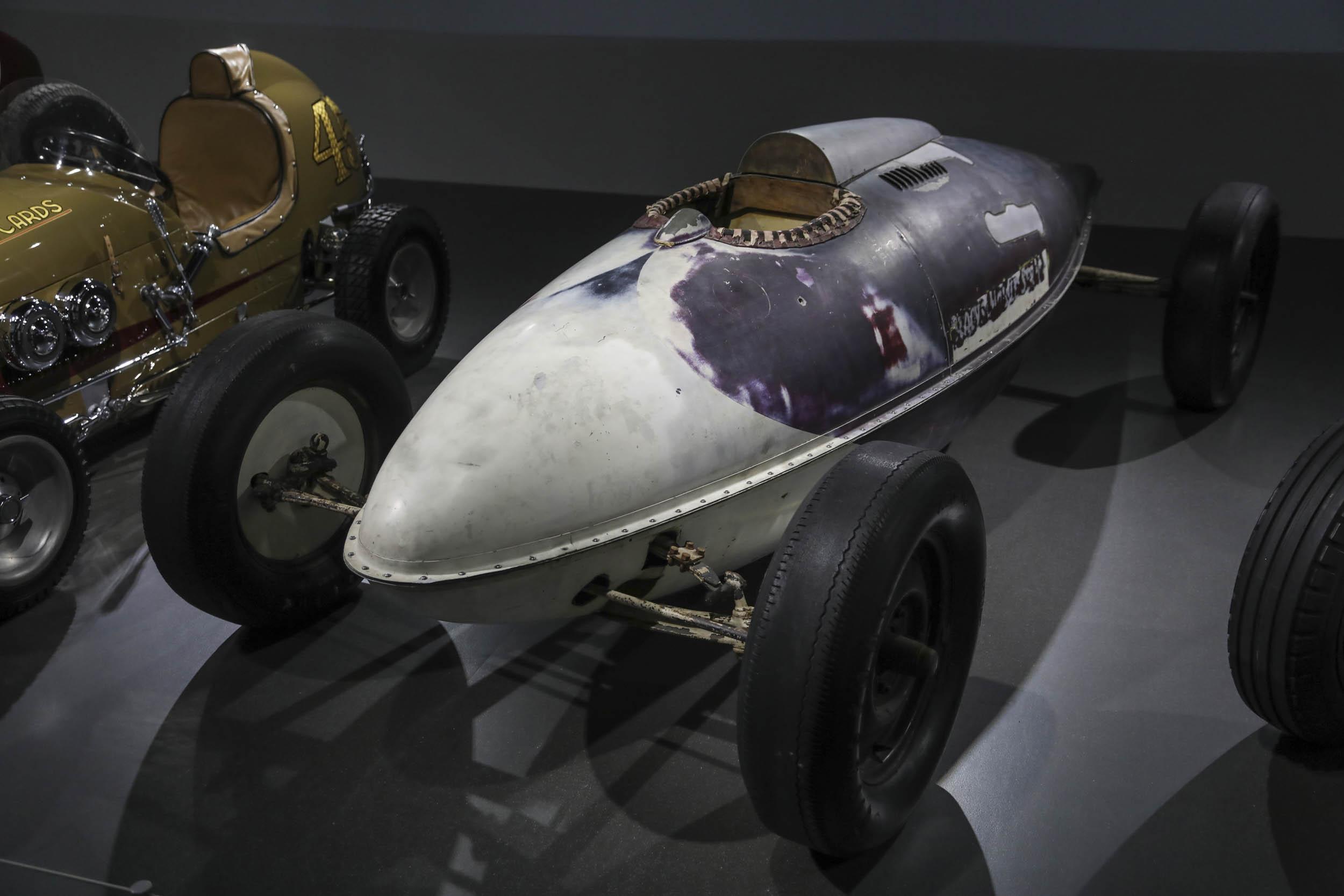 Racing legend Parnelli Jones car