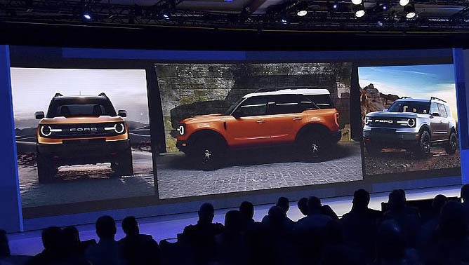 Leaked photos of the 2020 Ford Bronco