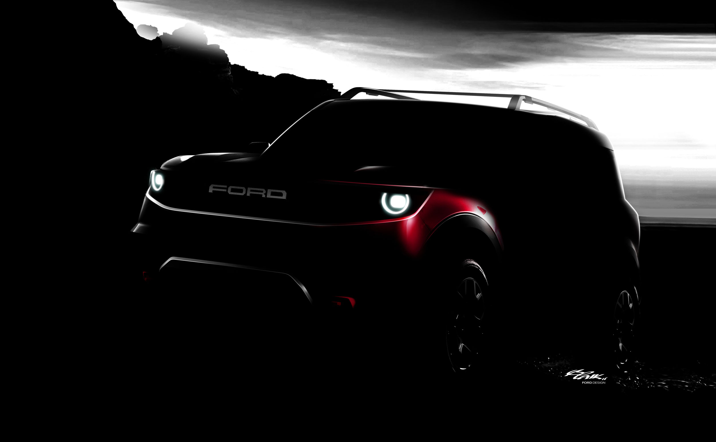 Ford Bronco tease
