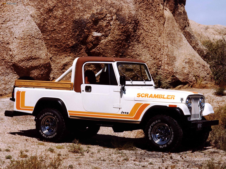 1981 Jeep CJ-8 Scrambler front 3/4