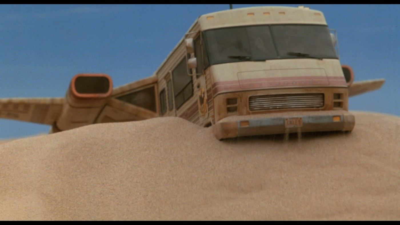 Spaceballs Winnebago crash