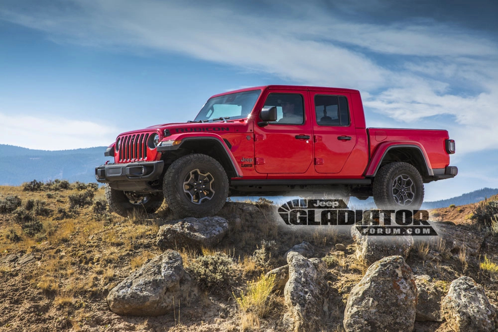 Leaked: Jeep Gladiator pickup, totally in the metal thumbnail