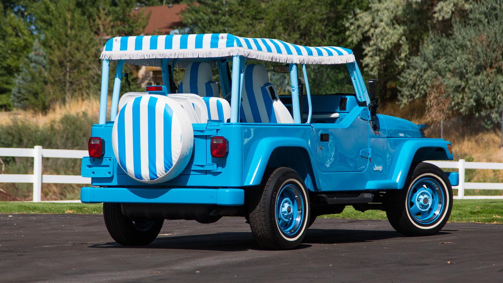 2004 Jeep Wrangler jolly rear 3.4