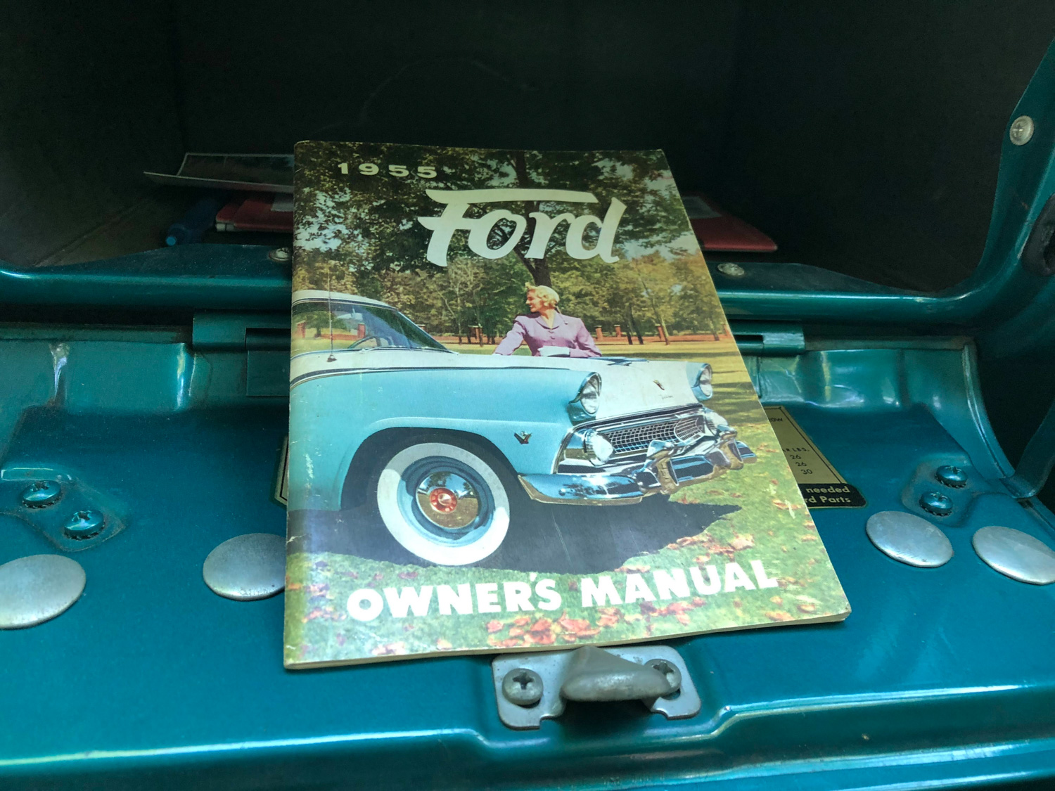 1955 Ford Country Squire Wagon owners manual