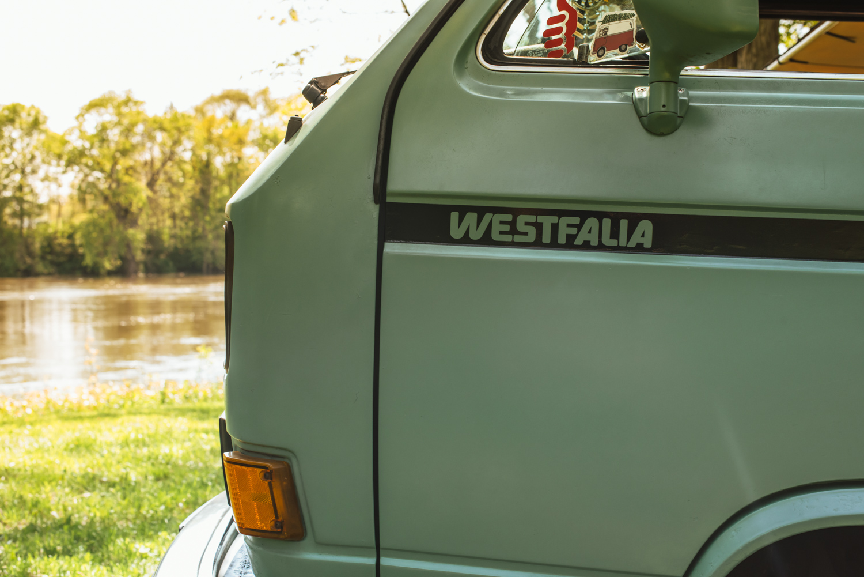1985 Volkswagen Vanagon Westfalia detail badge