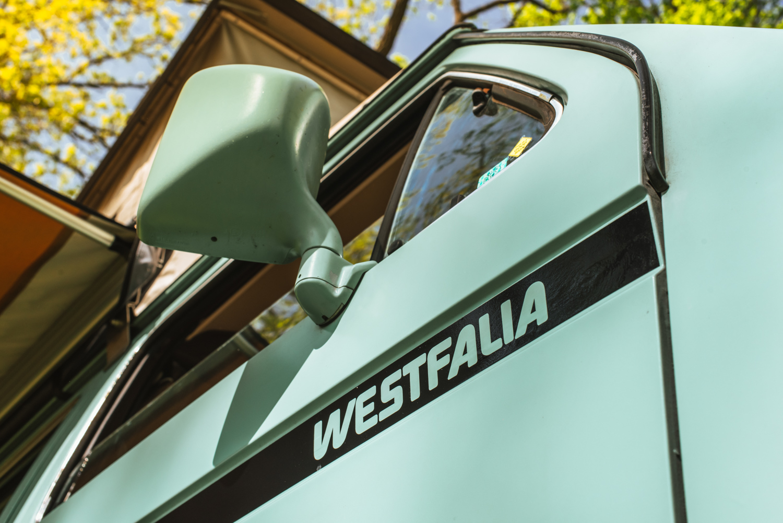 1985 Volkswagen Vanagon Westfalia mirror detail