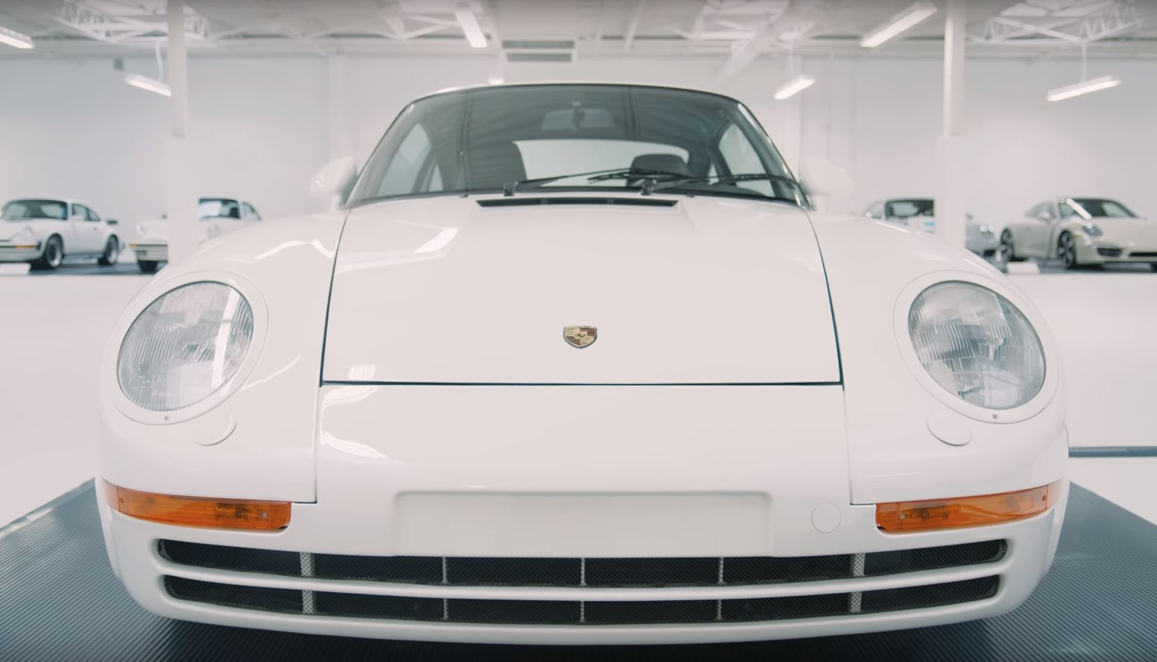Check out this all-white collection of white-hot Porsches thumbnail