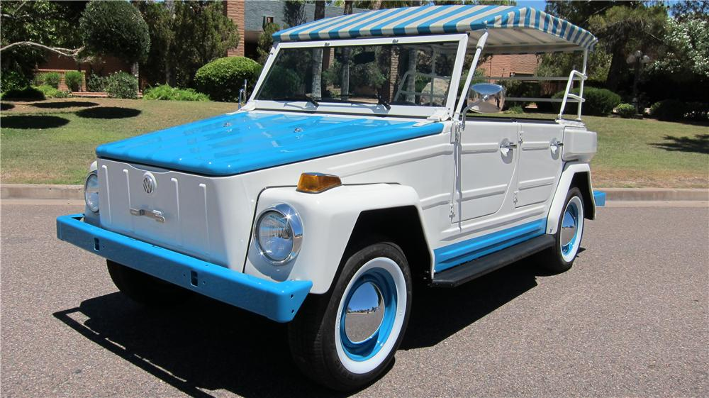 1974 Volkswagen Thing Acapulco front 3/4