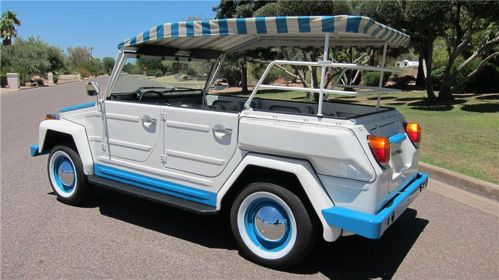1974 Volkswagen Thing Acapulco rear 3/4