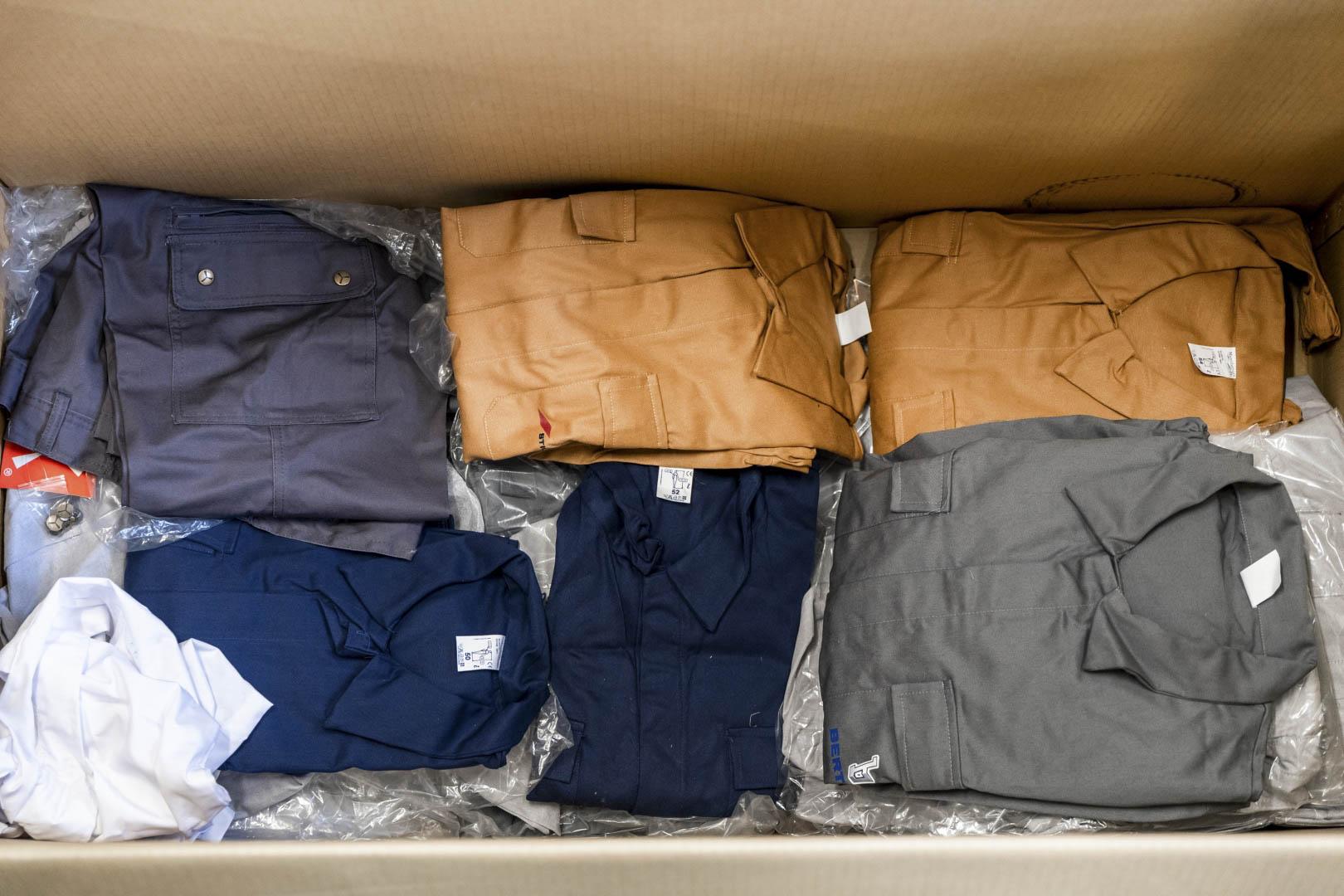 Bertone Working uniforms