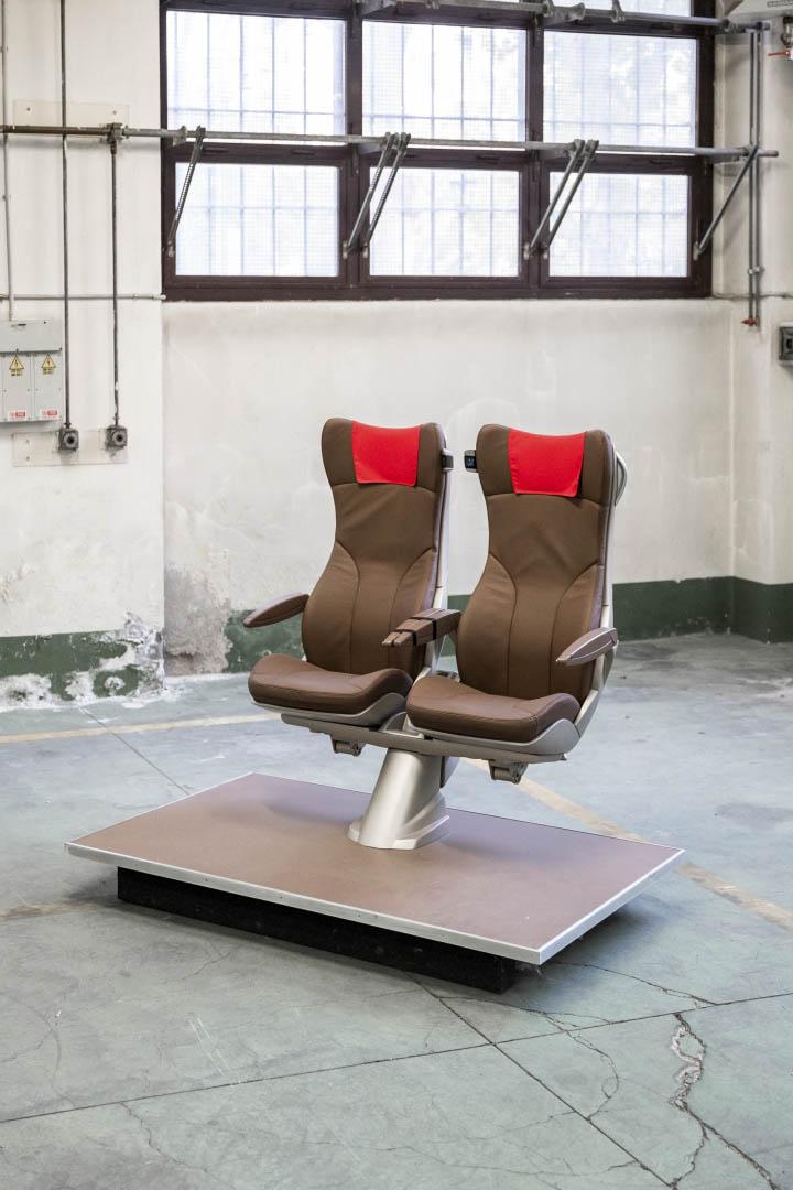 Bertone Frecciarossa seats