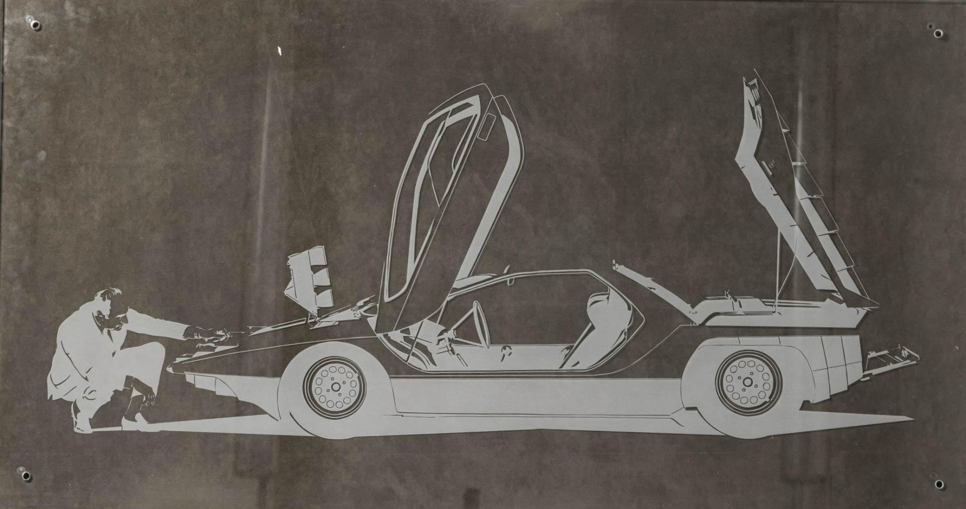 Nuccio Bertone Alfa Romeo Carabo