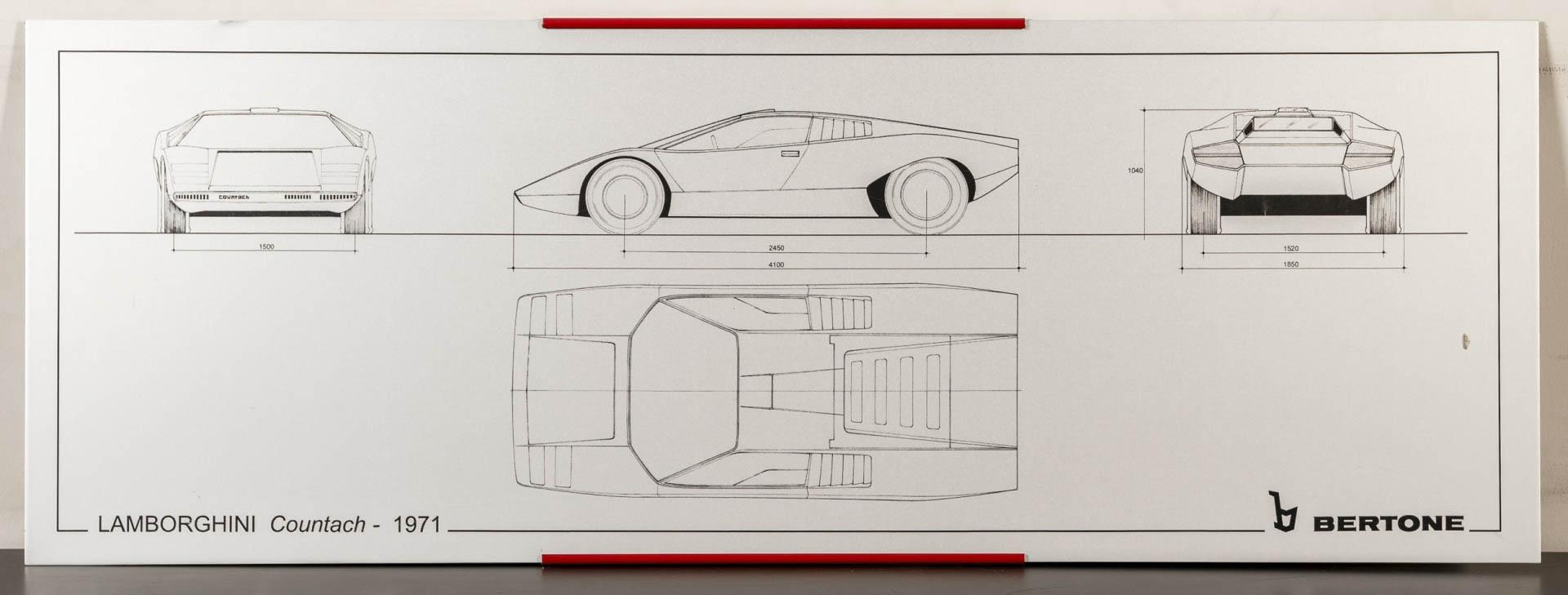 Lamborghini Countach silkscreen