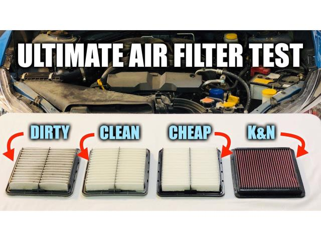 Is That Performance Air Filter Actually Helping Your Car