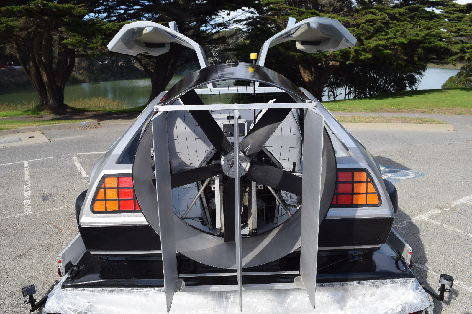 delorean hovercraft rear fan